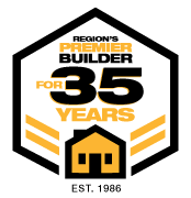 regions premier builder for 35 years