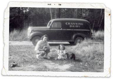 old photo of carey family